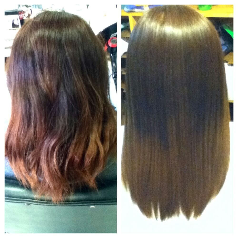 Straight perm didnt work - Photo Of Rick Beauty Salon Torrance Ca United States Before And After