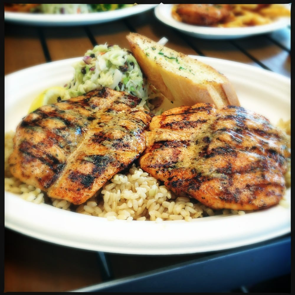 Grilled salmon cajun style yelp for Fish dish burbank