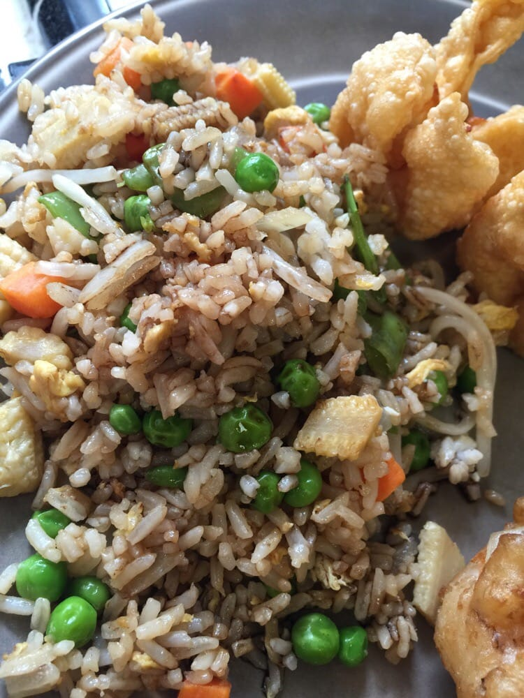 Veggie Fried Rice Great Flavor Yelp