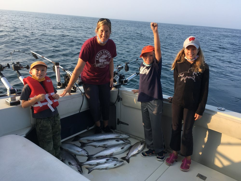 Average Guy Adventures Guide Service /Charters: 475 Maritime Dr, Manitowoc, WI