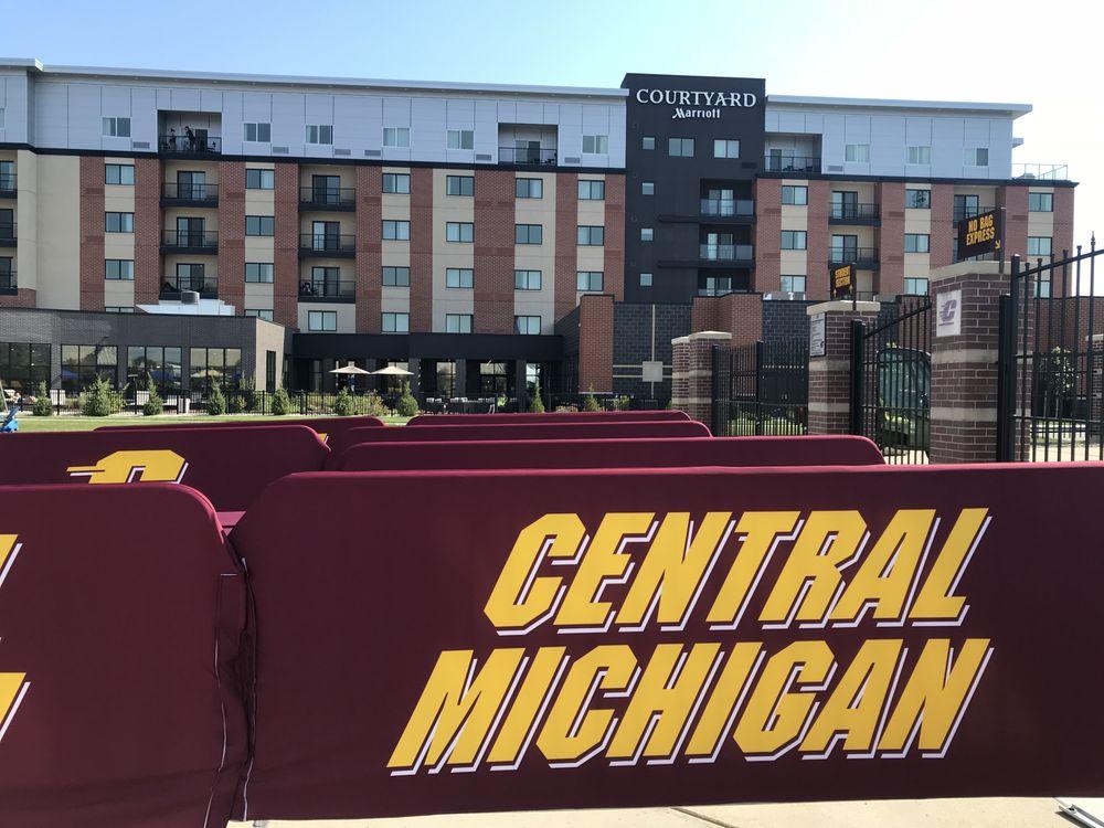 Courtyard Marriott: 2400 E Campus Dr, Mount Pleasant, MI