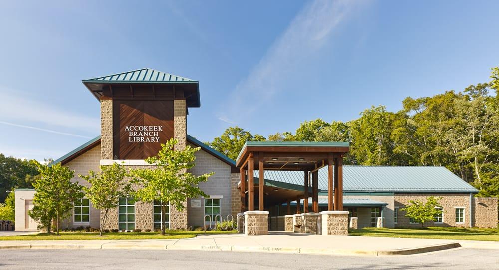 Accokeek Branch Library: 15773 Livingston Rd, Accokeek, MD