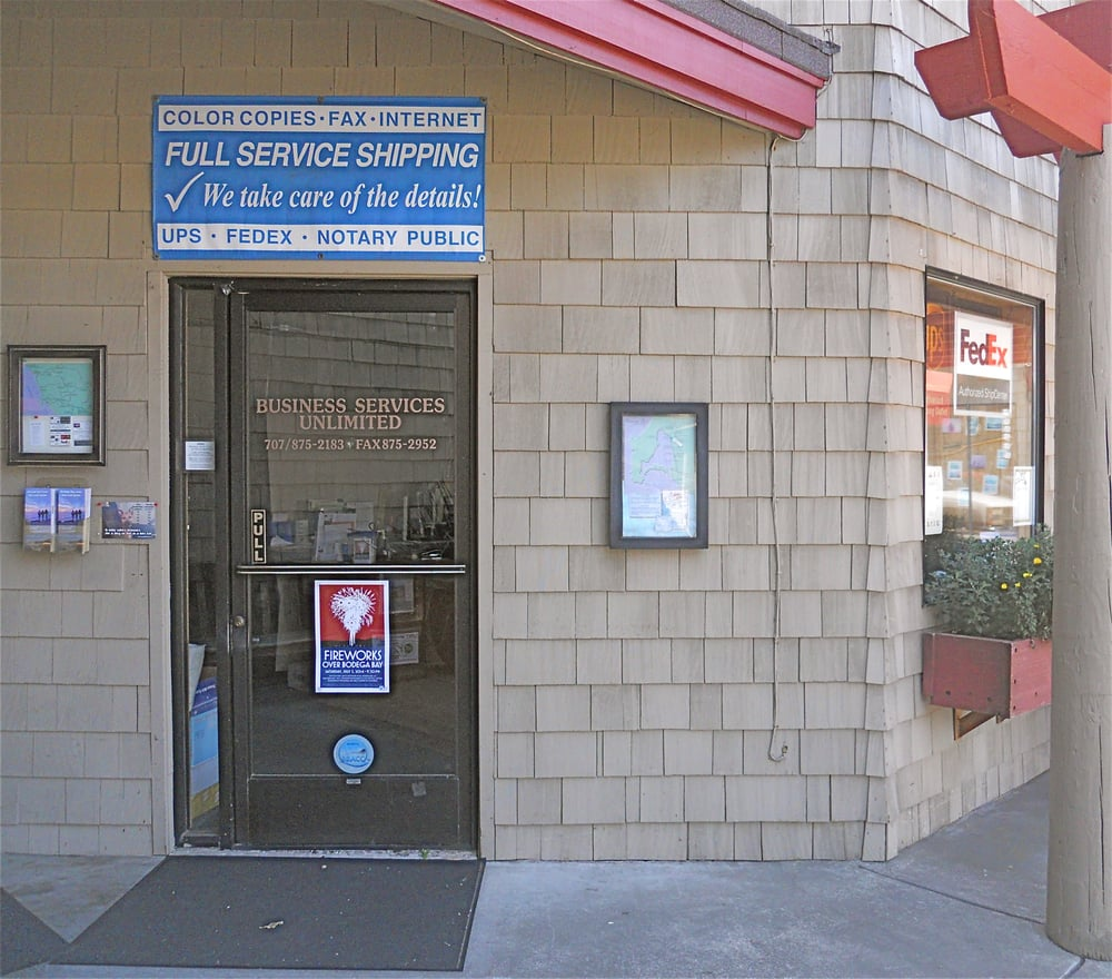 Business Services Unlimited: 1400 N Hwy 1, Bodega Bay, CA
