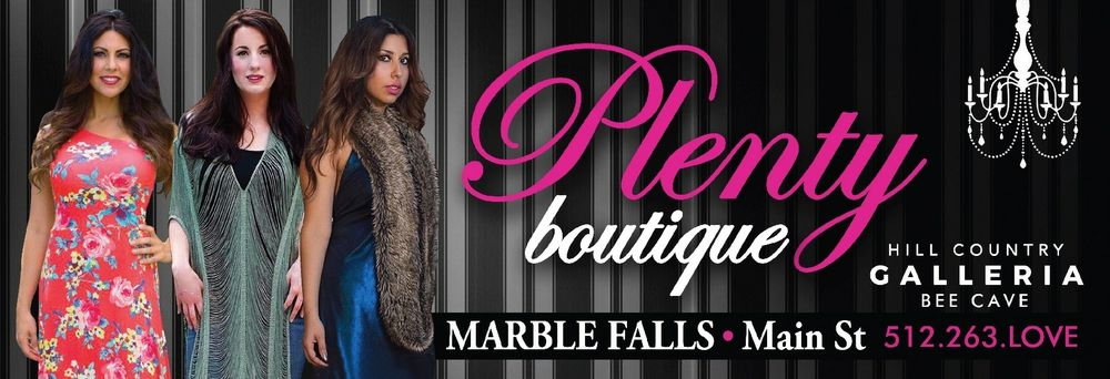 Plenty Boutique: 12820 Hill Country Blvd, Bee Cave, TX