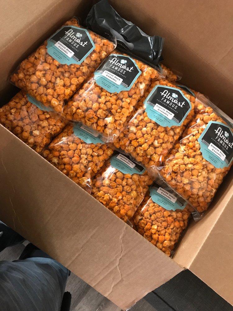 Almost Famous Popcorn: 1121 3rd St SE, Cedar Rapids, IA