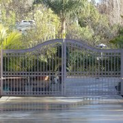 Hand Forged Scrolled Photo Of Mares Wrought Iron Ventura Ca United States Electric Swing Gate