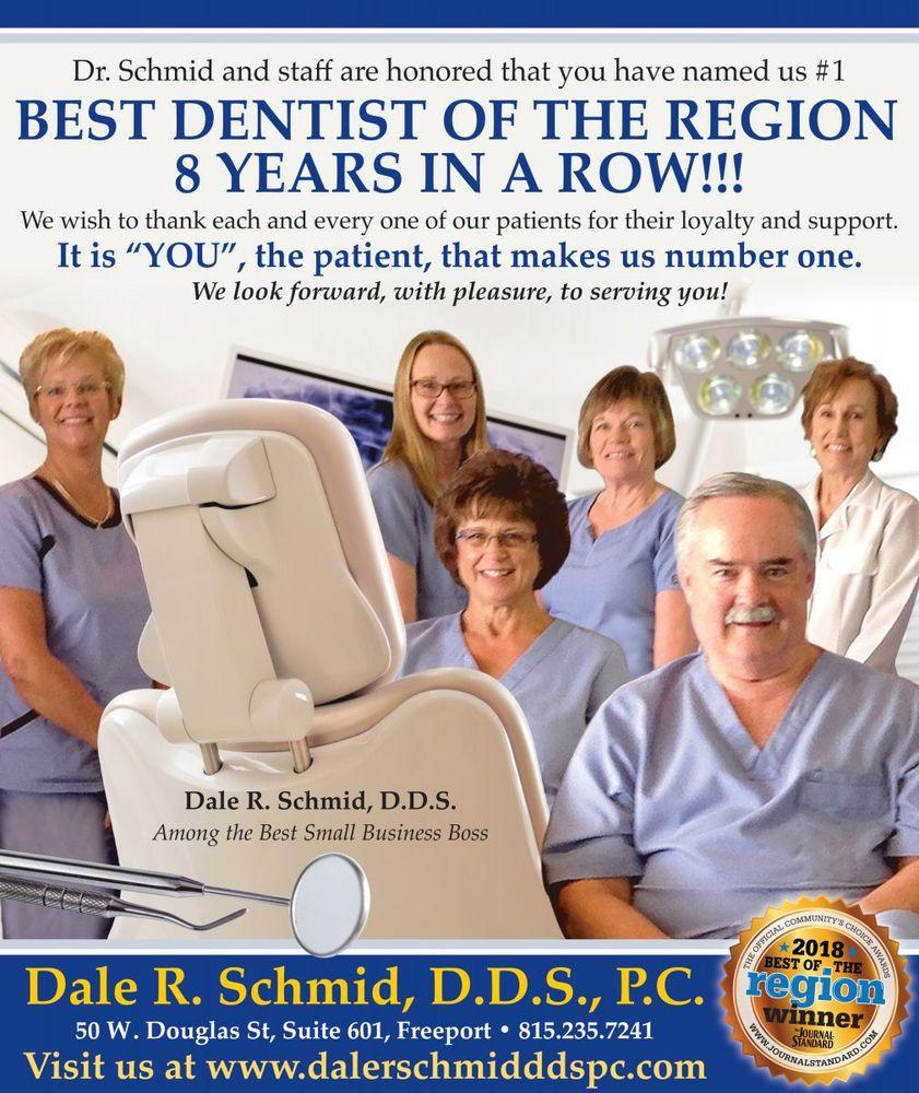 Dale R Schmid DDS PC: 50 W Douglas St, Freeport, IL