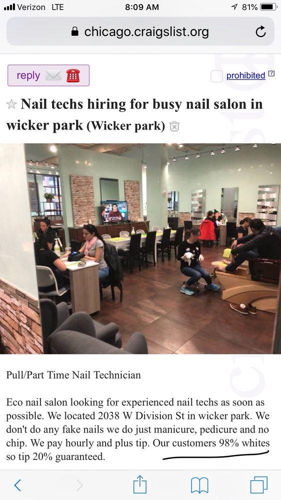 Eco Nail Salon: 2038 W Division St, Chicago, IL