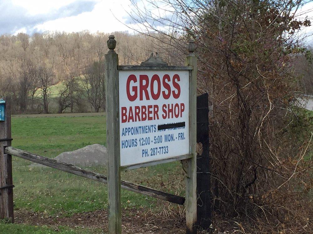 Gross Barber Shop: Elizabethtown, IL