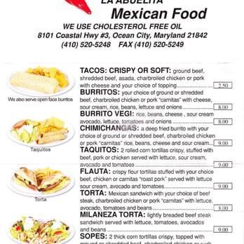 Mexican Restaurants In Ocean City Md Best