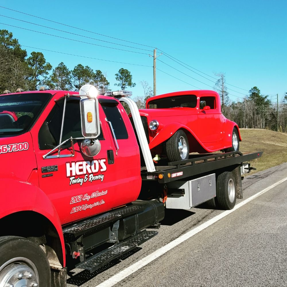Towing business in Chickasaw, AL