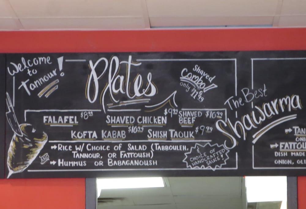 Menu plates yelp for Al tannour mediterranean cuisine menu