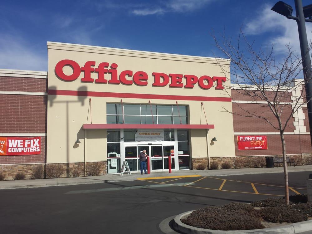 Office Depot Kontorudstyr 307 E University Pkwy Orem