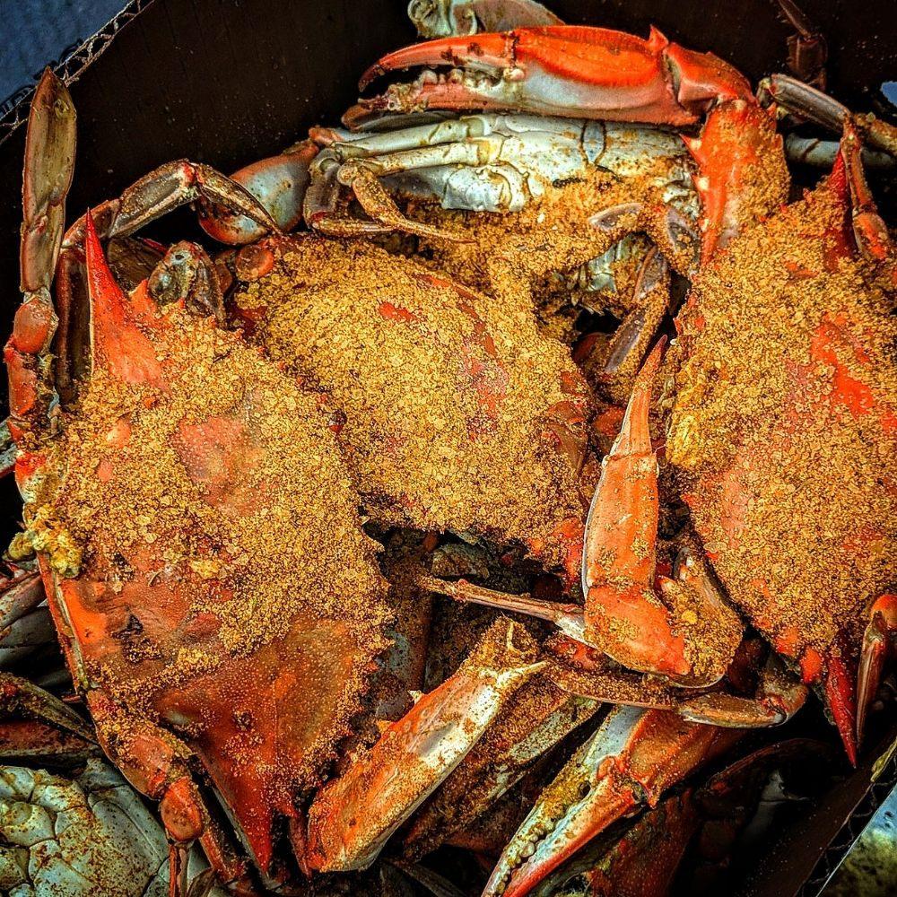 T L Morris Seafood: 1606B Marina Dr, Trappe, MD