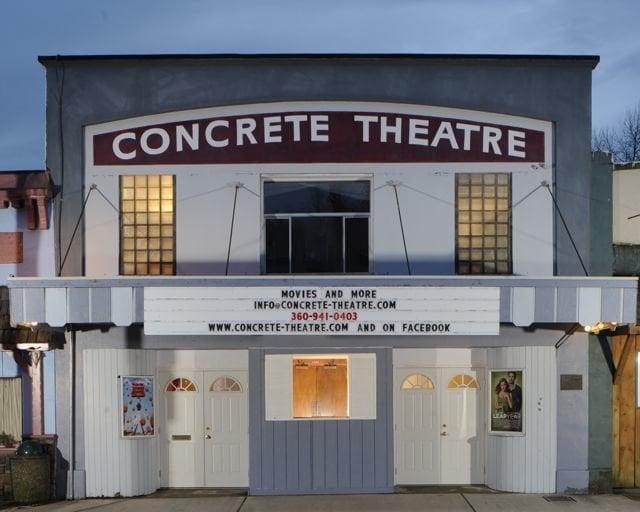 Concrete Theatre: 45920 Main St, Concrete, WA