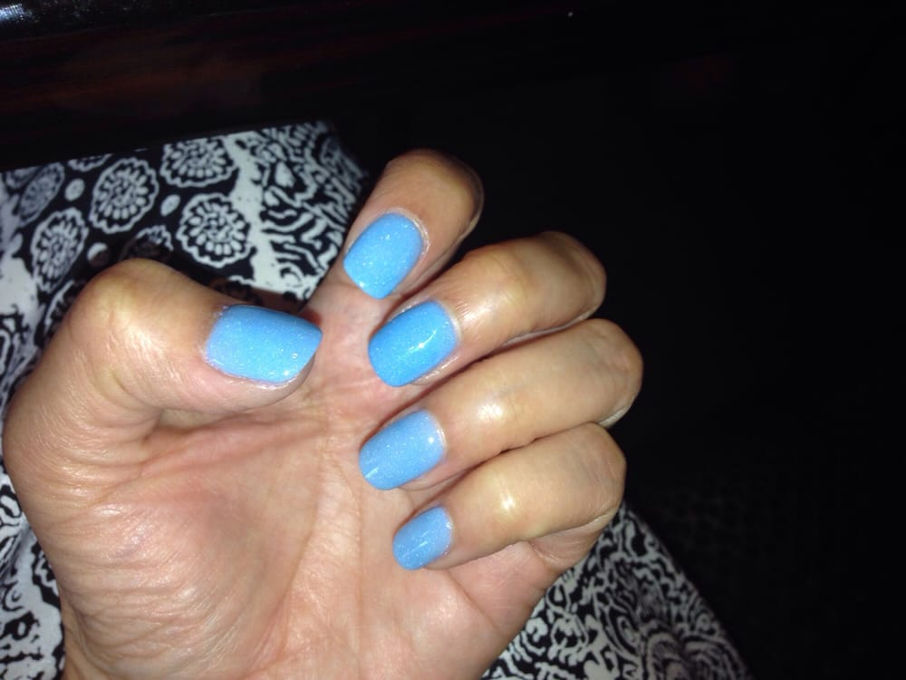 Love the baby blue color that Ashley recommended!! NexGen nails - Yelp