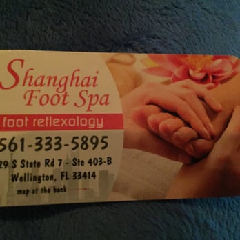 Shanghai Foot Spa Wellington Fl