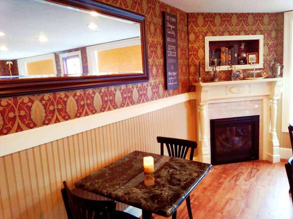 Social Spots from Rhapsody's Victorian Coffee House