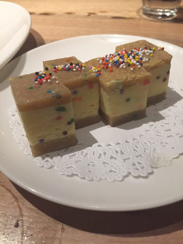 Birthday cake ice cream sandwich Yelp