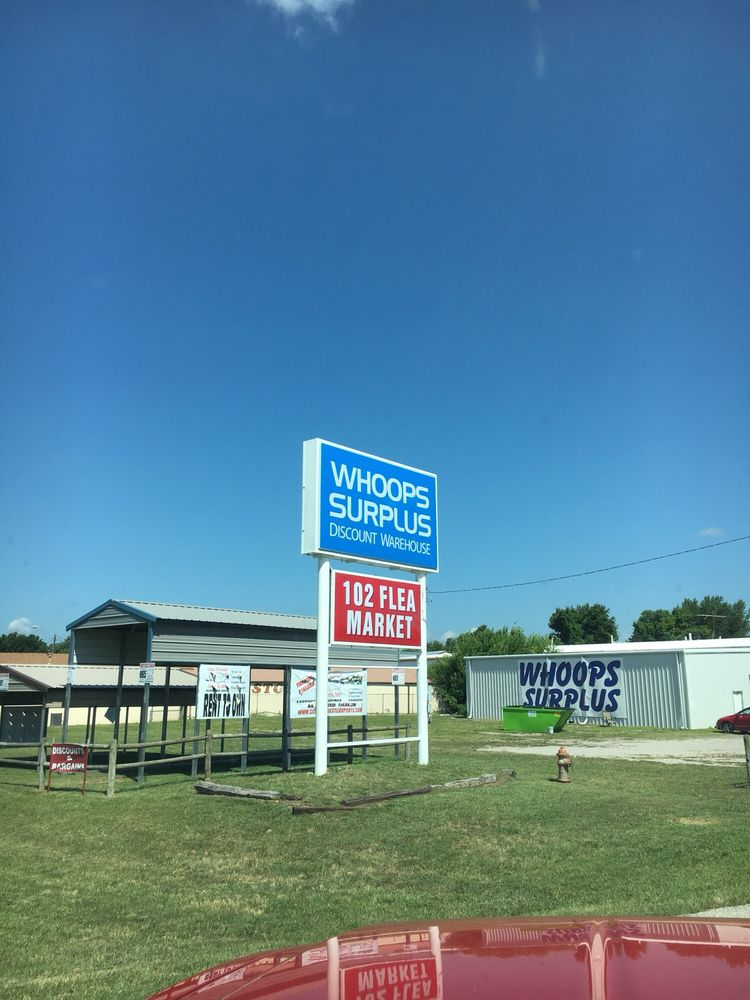 Whoops Surplus: 102 Lennel Dr, Grove, OK