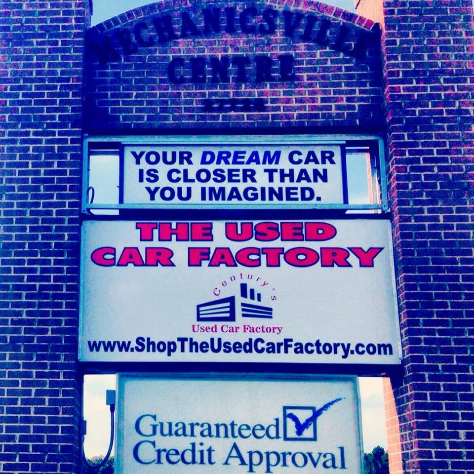 The Used Car Factory Mechanicsville Md