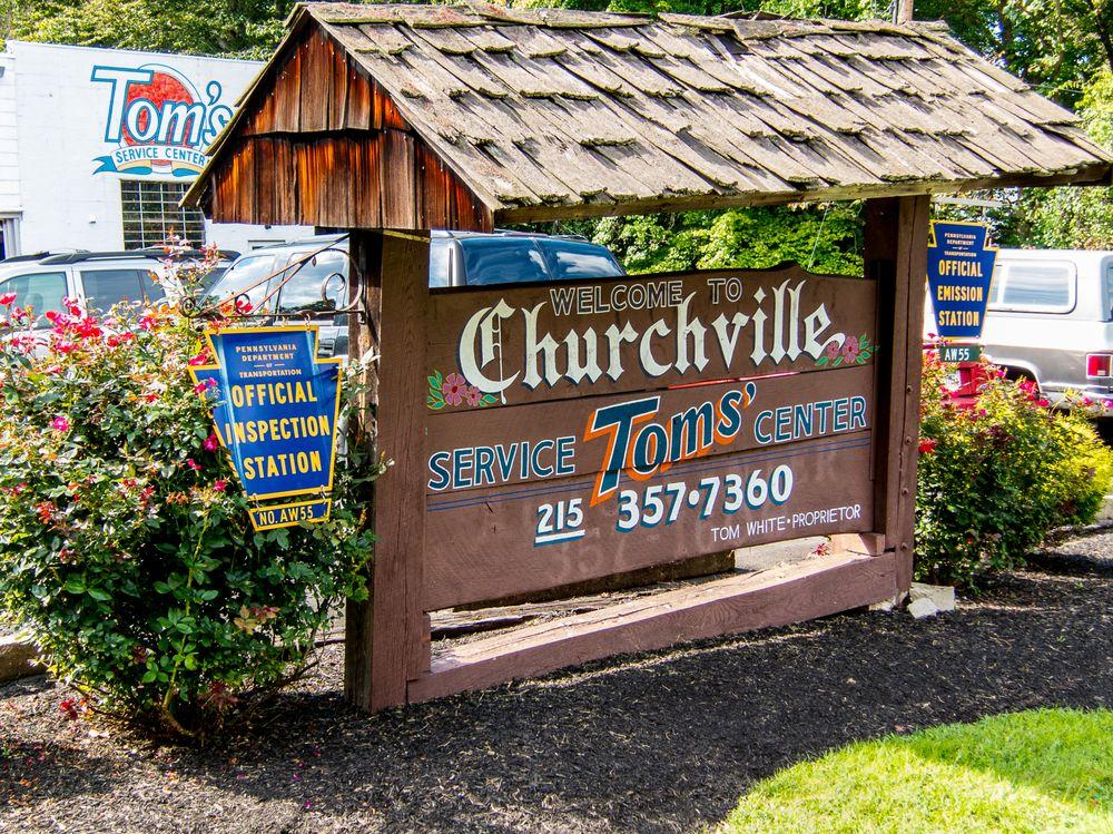 Tom's Service Center: 522 Bustleton Pike, Churchville, PA
