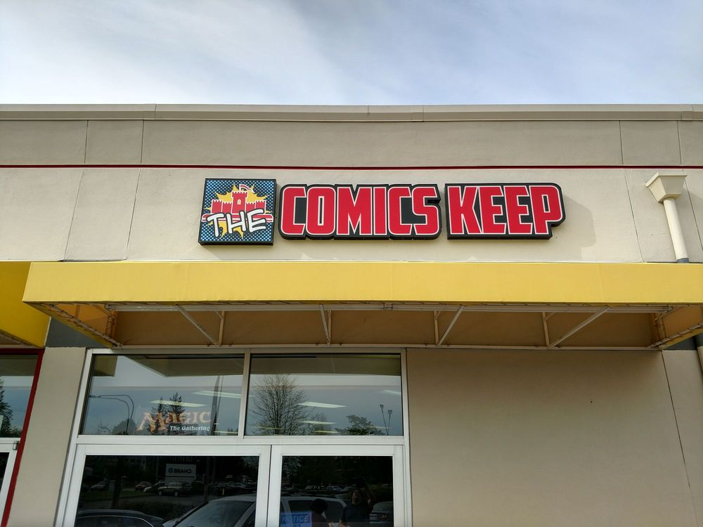 The Comics Keep: 5060 State Hwy 303 NE, Bremerton, WA