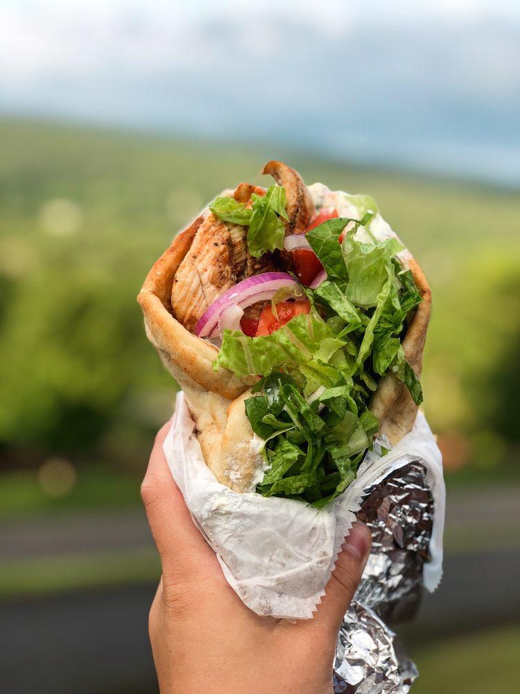Food from Aegean Breeze Restaurant