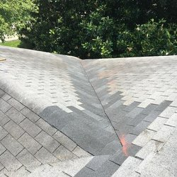 Photo Of Bone Dry Roofing Louisville Ky United States Completed Valley Repair