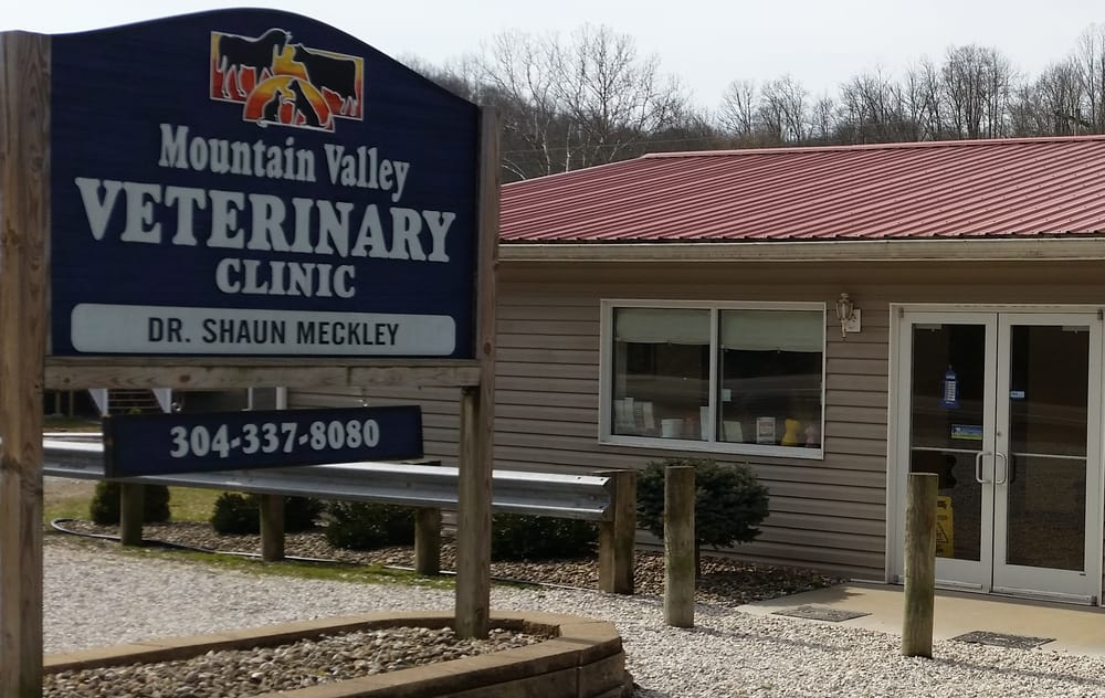 Mountain Valley Veterinary Clinic: 3919 Veterans Hwy, New Martinsville, WV
