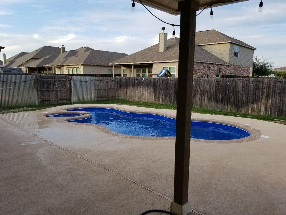 Aquamarine Pools: 8360 N I-35, Georgetown, TX