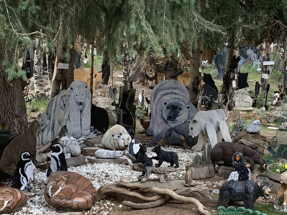 Sweety's Wildlife Preserve Art Zoo: 1220 Black Bear Hill, Lake City, CO