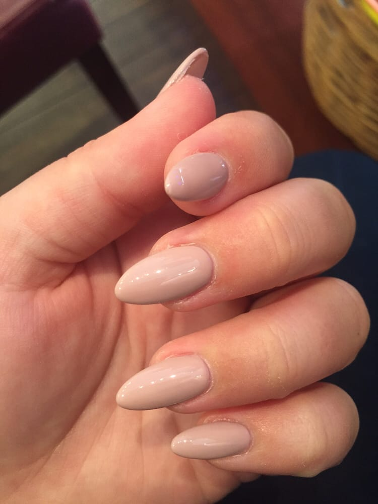 AMAZING almond gel nails. I\'m obsessed. - Yelp