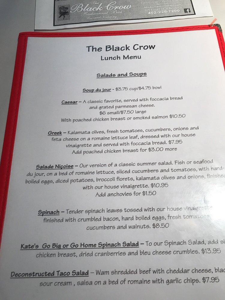 The Black Crow: 405 Court St, Beatrice, NE