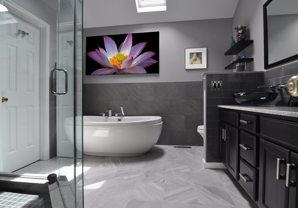 Master Bath Retreat Perry County Complete Demo Of Existing S - Bathroom remodeling mechanicsburg pa