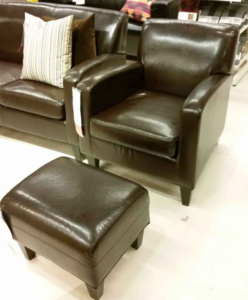 Ikea leather sofa jappling - Photo Of Ikea Tampa Fl United States Chocolate Brown Padded Leather