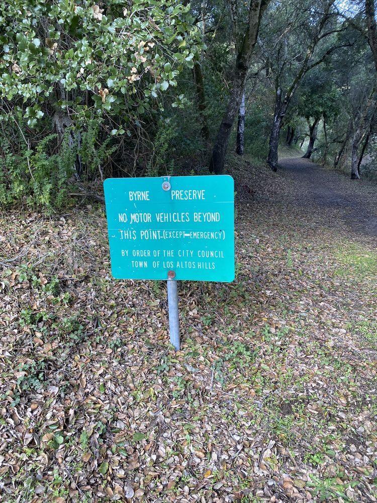 Byrne Preserve: 27205 Byrne Park Ln, Los Altos Hills, CA