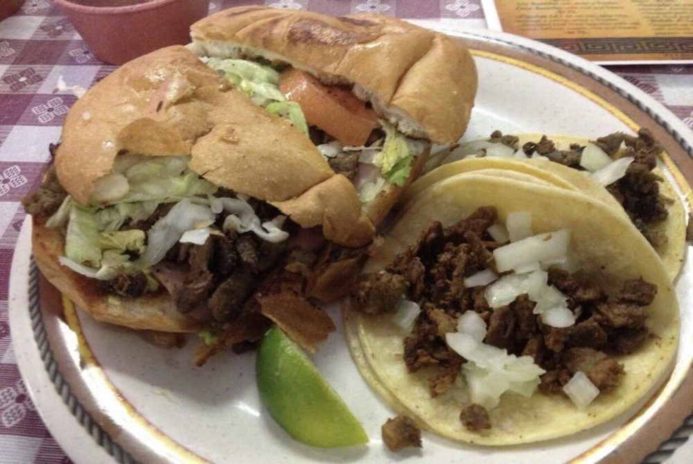 Food from Tacos Goyo