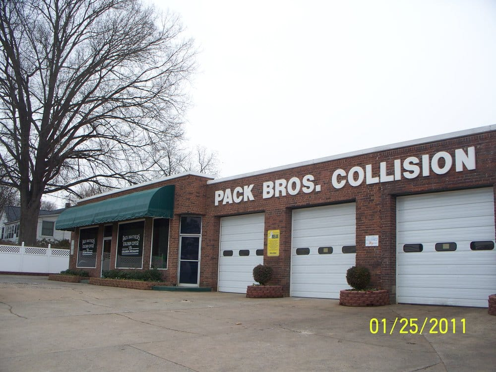 Pack Brothers Collision Center: 6116 W Wilkinson Blvd, Belmont, NC