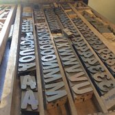 Photo Of Primitive And Industrial Furniture   San Diego, CA, United States.  Letterpress