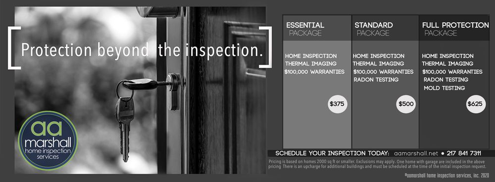 aa marshall home inspection services: 908 Riverview Ln, Mahomet, IL