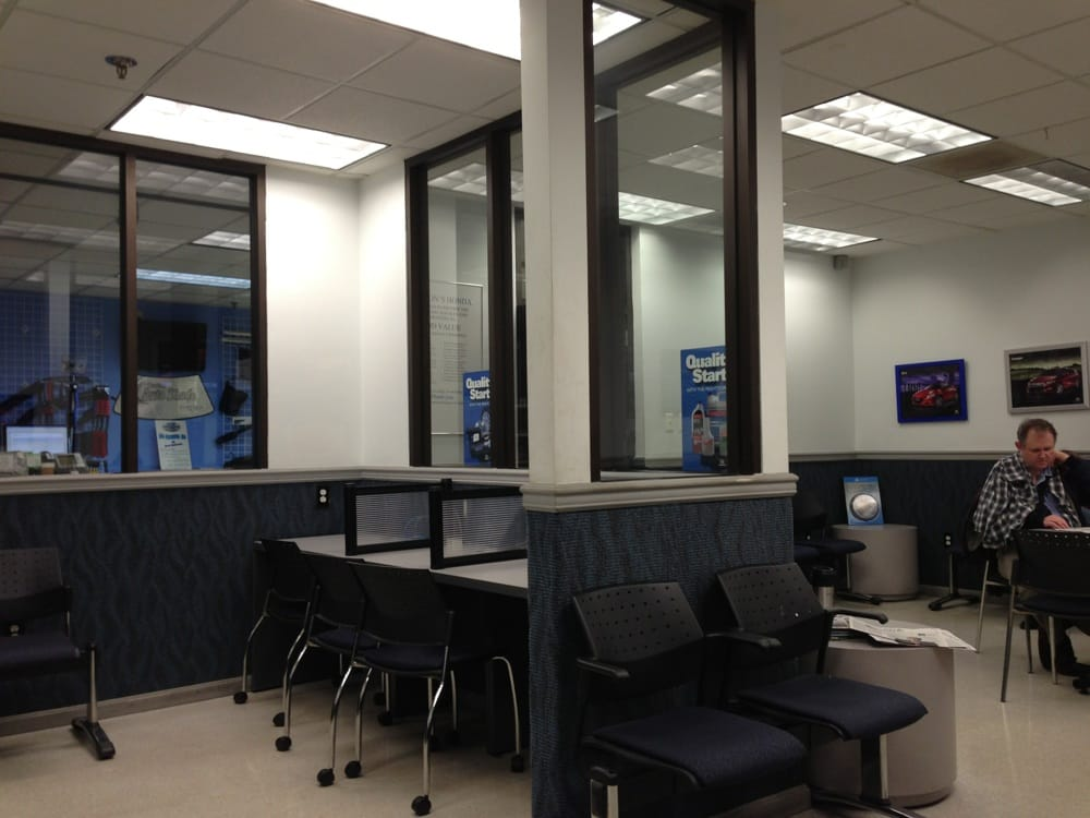 Herson 39 s honda waiting area yelp for Herson honda rockville