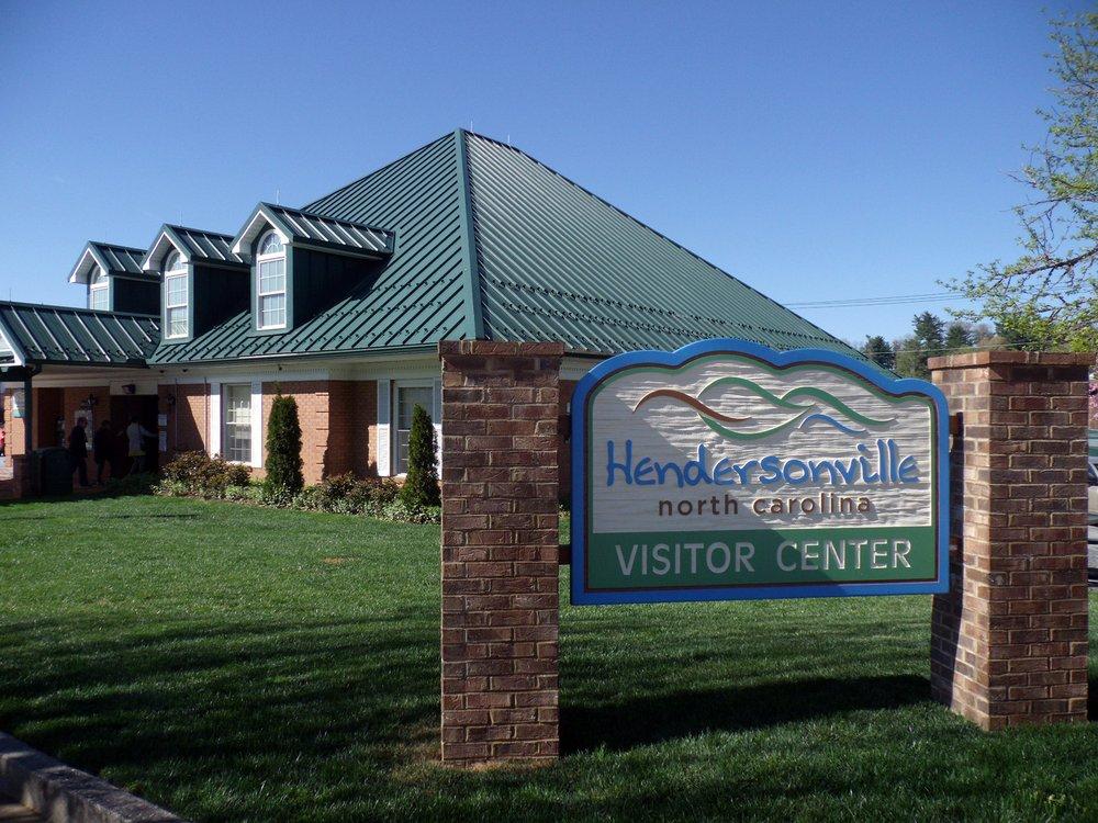 Hendersonville Visitor Center: 201 S Main St, Hendersonville, NC