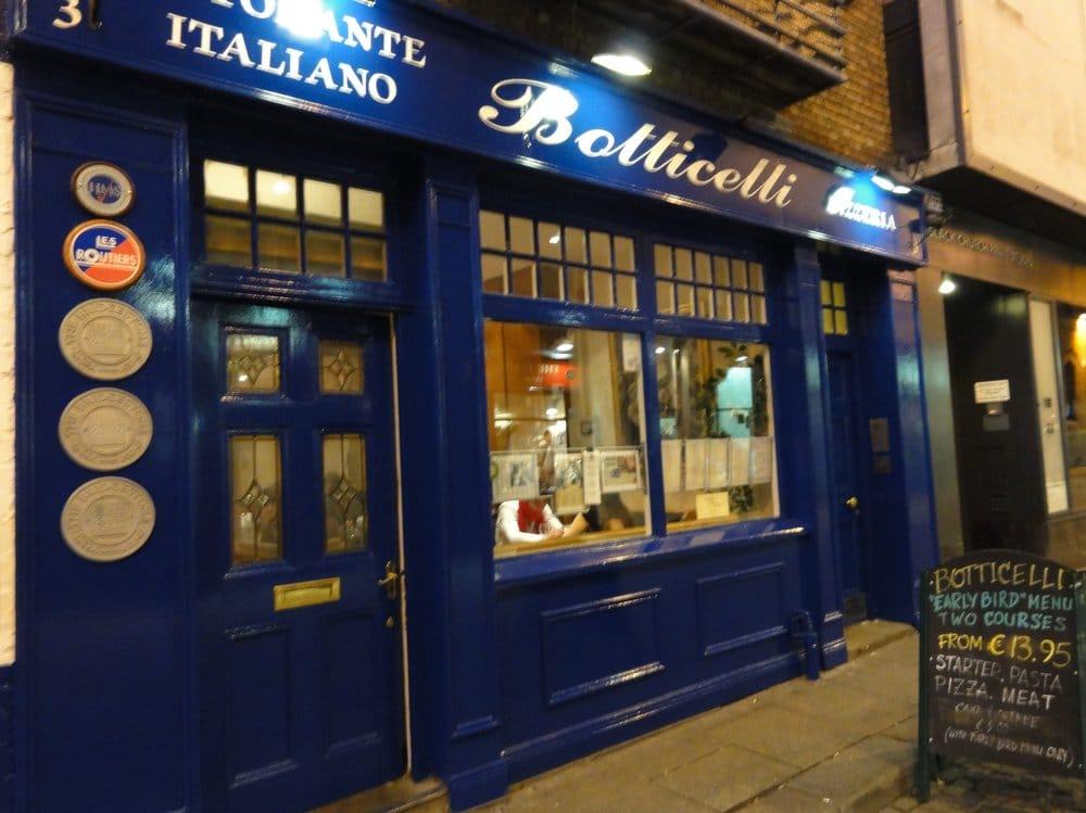 Botticelli Italian Restaurant Closed 15 Photos 36 Reviews 3 Temple Bar Dublin Phone Number Yelp