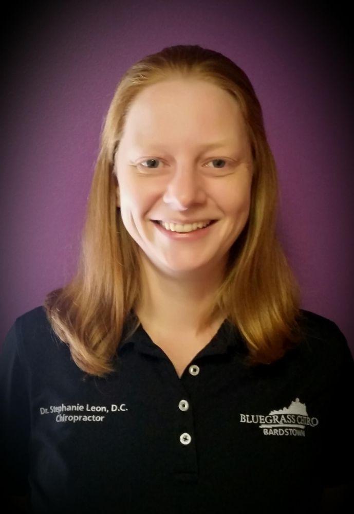 Stephanie Leon, DC - Bluegrass Chiro - Bardstown: 214 W John Fitch Ave, Bardstown, KY