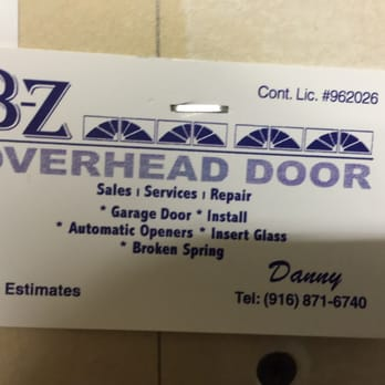 B Z Overhead Door 12 Reviews Garage Door Services Sacramento
