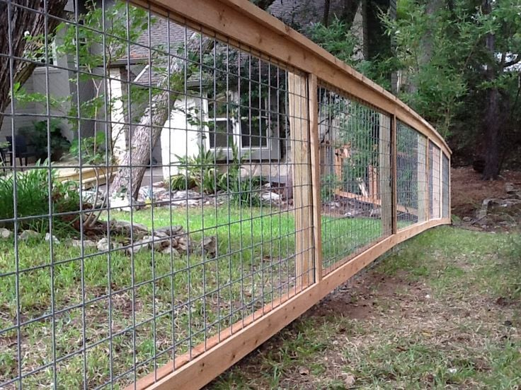 Bull Wire Fence With Cap Amp Trim Will Keep The Pets