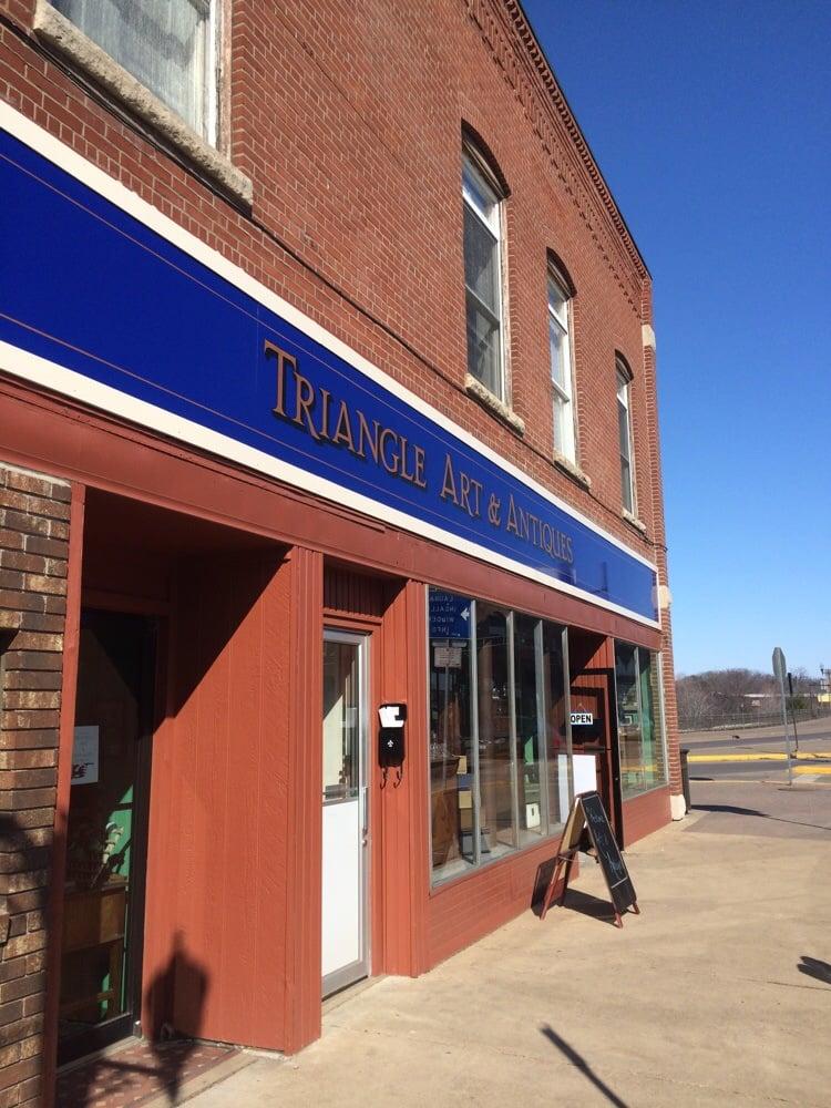 Triangle Art And Antiques: 335 Main St E, Menomonie, WI