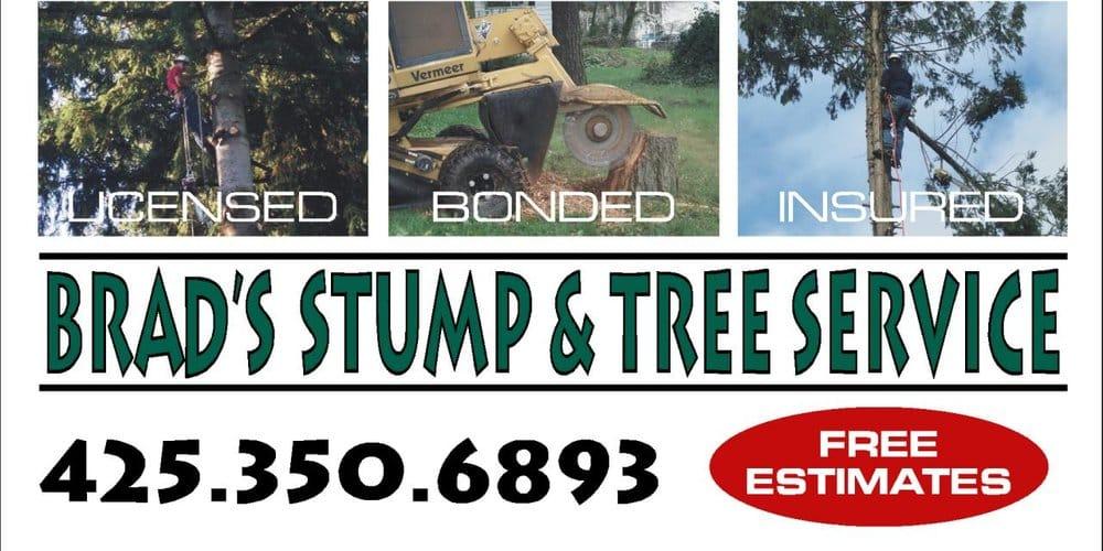 Brad's Stump & Tree Service: Arlington, WA