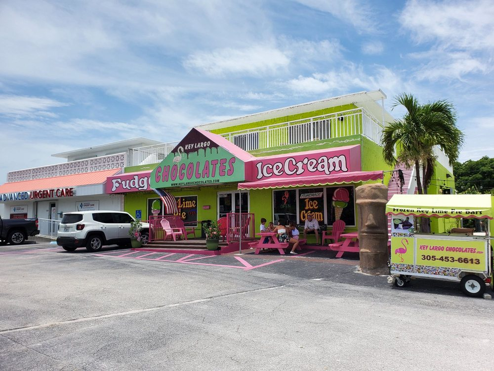 Key Largo Chocolates and Ice Cream: 100470 Overseas Hwy, Key Largo, FL
